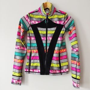 Ivivva Multicolor Stripe Jacket